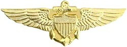 Naval Aviator Pilot Wings Lapel Pin or Hat Pin