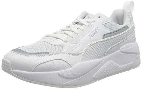 PUMA X-Ray 2 Square, Zapatillas Unisex Adulto, Blanco White White/Gray Violet, 44 EU