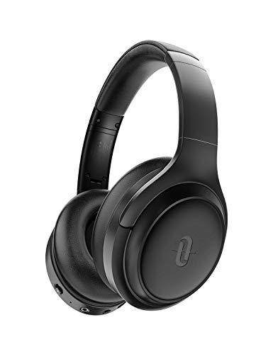 TaoTronics Cascos Inalambricos Bluetooth 5.0 Auriculares con Active Cancelación de Ruido Hi-Fi Sonido Estéreo CVC 6.0 con Micrófono Integrado, 30 Horas de Reproducir ANC Carga rápida para PC/TV/Móvil