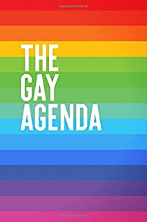 THE GAY AGENDA: Funny LGBT Pride Meme * 2020 Leap Year Weekly Planner 6