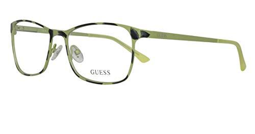 GUEX5 GU3012 53095 Brille GU3012 53095 Rechteckig Brillengestelle 53, Grün