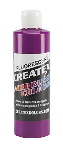 Createx Colors Paint for Airbrush, 8 oz, Fluorescent Violet by Createx Colors
