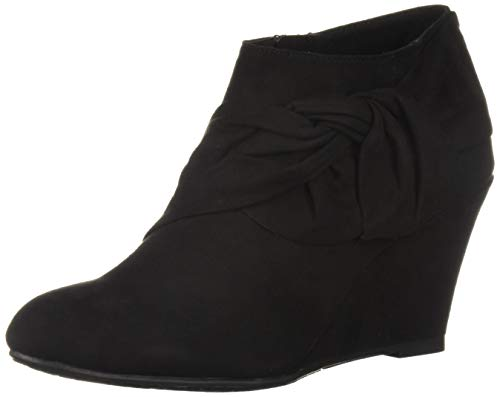 CL by Chinese Laundry Women's Viveca Ankle Boot, Black Suede, 7.5 M US