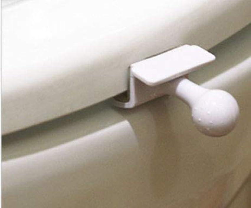 決して司教拾う切手を貼り郵便局発送、トイレ 便座 取っ手 除菌 トイレ便座とって 便座ハンドル 開閉、トイレを使用する時、蓋を持ち上げる時の不愉快さを なくす、トイレの蓋を取る器具