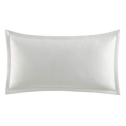Nautica Jean Co White 14X26 Decorative Pillow Cotton Throw Pillow