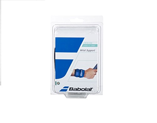 Babolat Protección tenista de Tenis, Wrist Support, Blau, One Size, 720007_100, Azul, Talla única