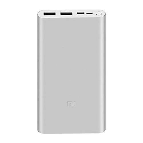Xiaomi VXN4273GL ECO-SYSTEMS 10000MAH MI 18W SCHNELLE LADEGERÄTBANK 3 (SILBER) IN