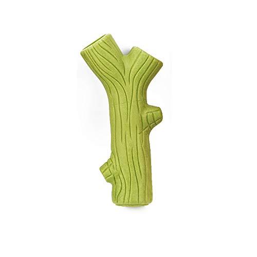 WY-Chew speelgoed voor honden huisdier benodigdheden/natuurlijke hars lijm/hond achtervolging spel/hond Molars Twig speelgoed, large, Groen