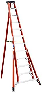 Werner FTP6212 300-Pound Duty Rating Fiberglass Tripod Ladder, 12-Foot