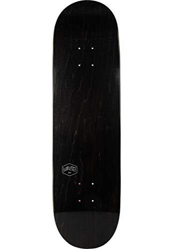 TITUS Skateboard Deck Small Logo VI Größe 8.25, Skateboard Deck Skateboards, Jugendliche, Erwachsene, Anfänger, Profis, Skateboard Deck mit gutem Pop, leicht stark, Skateboard Deck schwarz