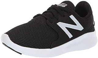 New Balance Boys' Coast V3 FuelCore Running Shoe Black/White 11.5 M US Little Kid [並行輸入品]