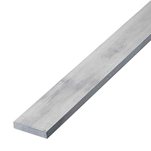 thyssenkrupp Flachstahl Edelstahl 15 x 4 mm in 500 mm Länge | Flachstange V2A gezogen | Werkstoff: 1.4301 | AISI 304