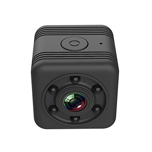 Hainice Wireless Cámara Mini Smart WiFi Cámara HD Cámara HD SQ29 Visión Nocturna portátil Detección de Movimiento para Exteriores al Aire Libre Negro