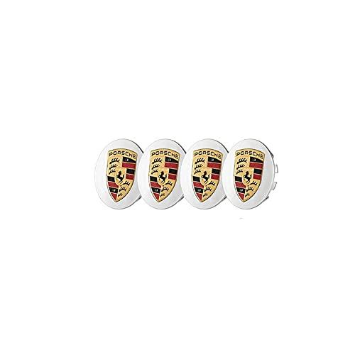 FNBA Cubierta del Centro de la Rueda, Piezas de automóvil, decoración de automóviles, Adecuada para Cubierta de Rueda Porsche de 65 mm, Cubierta de Logotipo de modificación de neumáticos