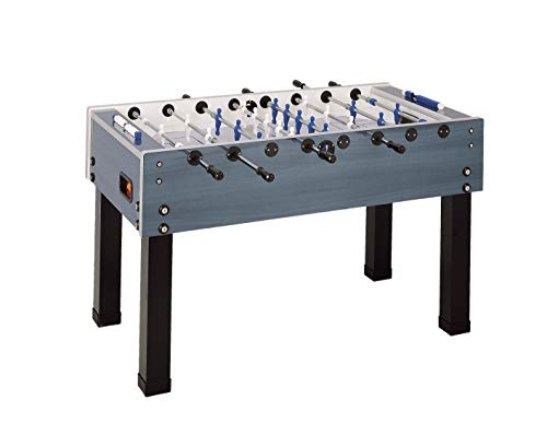 Garlando Unisex's G-500 Weatherproof Football Table, Blue, One Size
