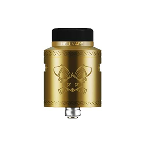 HellVape Dead Rabbit V2 RDA Clearomizer Set - Tröpfler oder Bottom Feeder - Farbe: gold