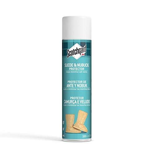 Scotchgard Protector de Ante y Nubuk, Blanco, 300 ml