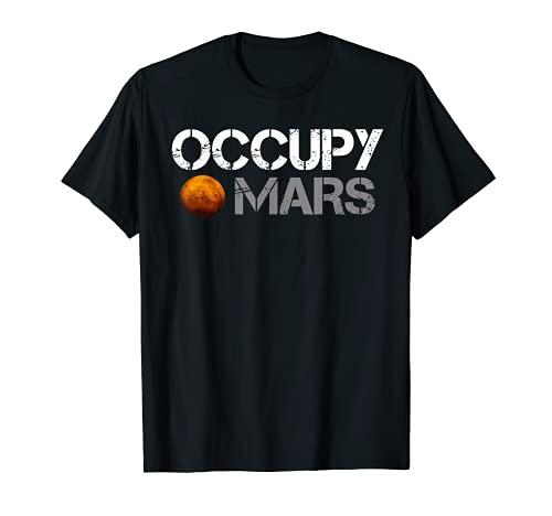 Occupy Mars T shirt
