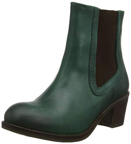 Fly London Damen Zerk482fly Chelsea Boots, Grün (Petrol 002), 36 EU