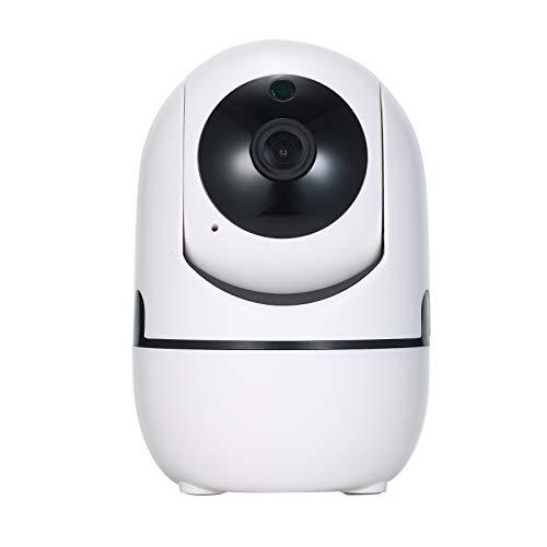 KKmoon 720P Cámara IP Inalámbrico, Detección de Movimiento, Audio Bidireccional, Visión Nocturna, Control de App, Cámaras Domo para la Monitorización de Bebés/Ancianos/Mascotas/Oficina/Tienda