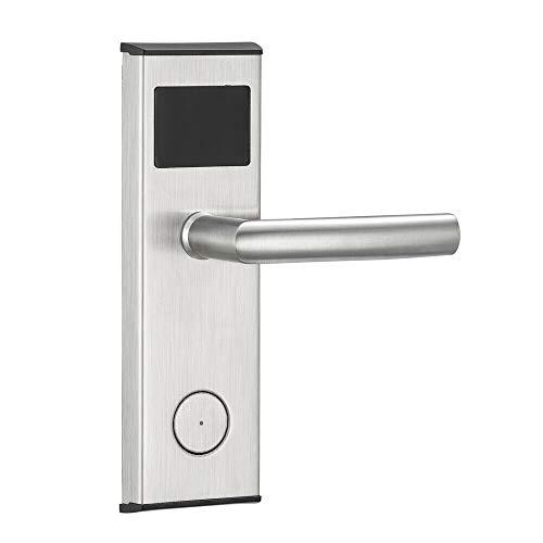 Digitale Türverriegelungskarte Eingangstürbeschläge Türschlösser Smart Lock mit Schlüsselkarten Elektronischer Riegel