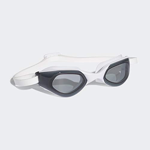 adidas Unisex– Erwachsene PERSISTAR CMF Schwimmbrille, Smolen/White/Scarle, M