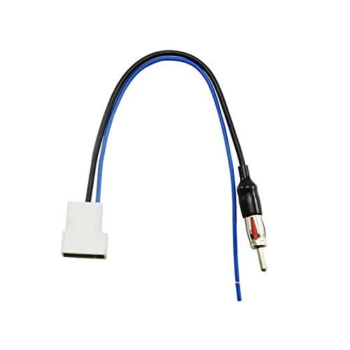 Goliton Antennenadapter Antenne Adapter PC5-147 für Nissan Almera, Navara, Note, Qashqai 2007> - Schwarz
