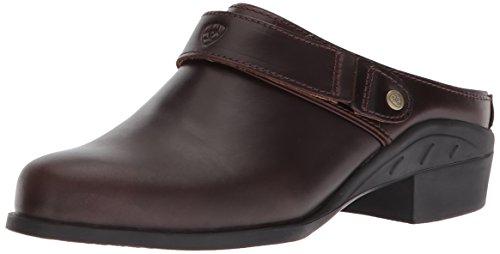 Ariat Women's Sport Mule Sneaker, Waxed Chocolate, 10 B US
