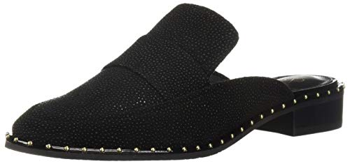 Adrianna Papell Women's Panama Loafer, Black Searay Leather, 6 M US