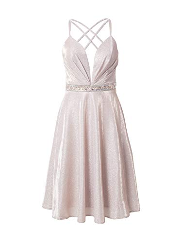 Luxuar Damen Cocktailkleid pastellpink 38