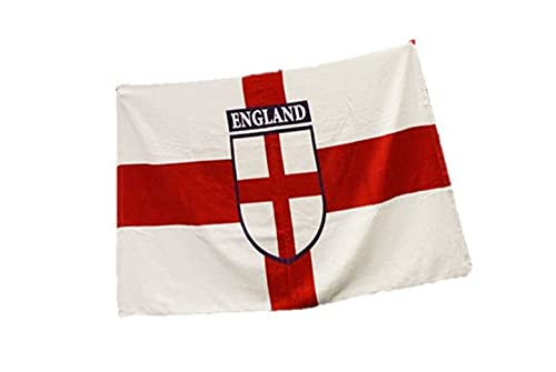 Toalla de playa gigante de Inglaterra, diseño de bandera de San Jorges, playa, jardín, festival, picnic, etc