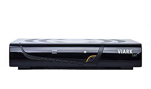 Viark Sat 4K Receptor Satélite 4K Multistream UHD DVB-S2X H.265 HEVC 60fps con LAN y Antena WiFi por USB