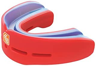 Shock Doctor Nano Double Mouthguard, Protects Upper and Lower Teeth, Youth & Adult sizes available