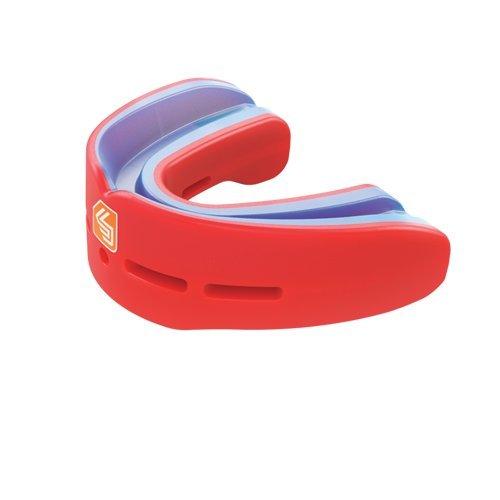 ShockDoctor Erwachsene Mundschutz Nano Double, Red, 11+
