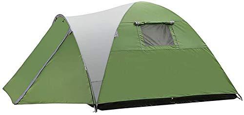 ZXL Kuppelzelt, für 3 bis 4 Personen Pop-up-Zelte Doppelschichtzelt mit Veranda, wasserdichte Campingzelte zum Wandern Camping Outdoor Outdoor Familie Gar den Fishing Beach