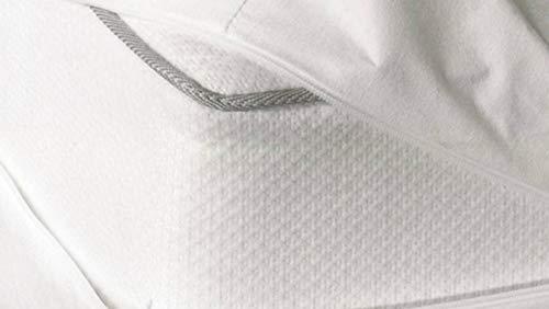 Snoozing Wit - Protector de colchón (120 x 200 cm)