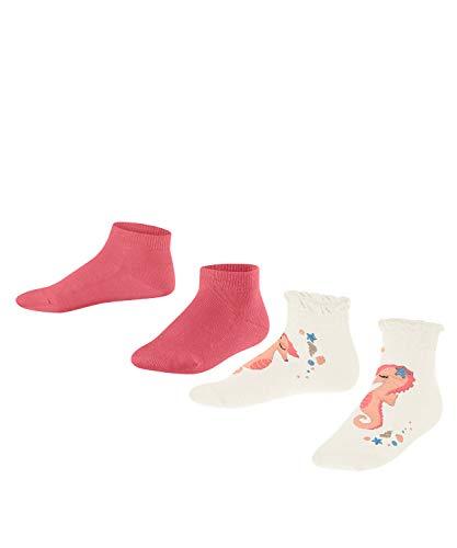 FALKE Unisex Kinder Ocean Journey 2 Pack K SN Socken, Mehrfarbig (Sortiment 10), 27-30 (3-6 Jahre) (2er Pack)