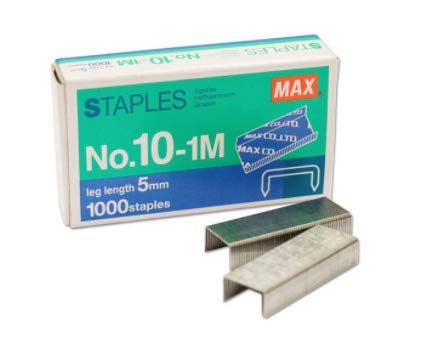 MAX Mini Staple No.10-1M for The use of Compact...