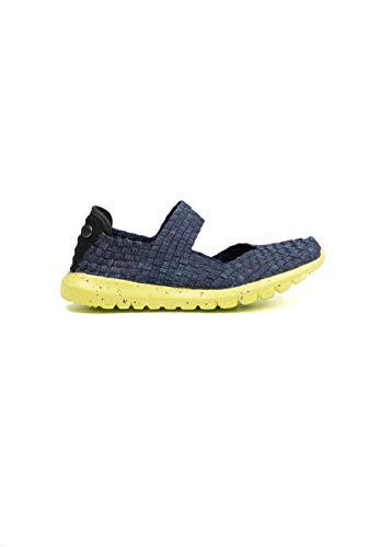 B M Bernie Mev New York Women's Runner Charm – Sportschuhe für Damen, ultraleicht, bequem, perfekt zum Gehen, mit Memory-Schaum-Einlegesohle und ultraleichter Sohle, - Jeans - Größe: 35 EU