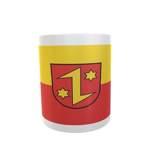 U24 Tasse Kaffeebecher Mug Cup Flagge Dettingen an der Erms