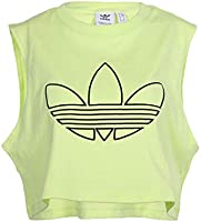 adidas Originals Womens Cropped Tank T-Shirt