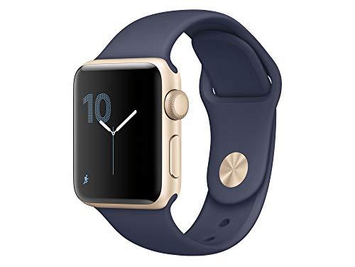 Apple Series 2Cassa in Acciaio Inossidabile Smartwatch con Fascia di Sport