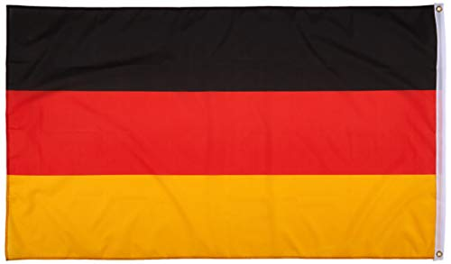 MM Deutschland Fahne/Flagge im Großformat 150 x 90 cm