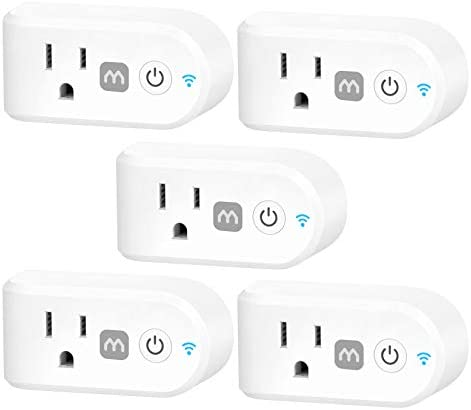 iMagic 15A Smart Plug Home Indoor Wi Fi Outlet Works with Alexa Google Home for Voice Control product image