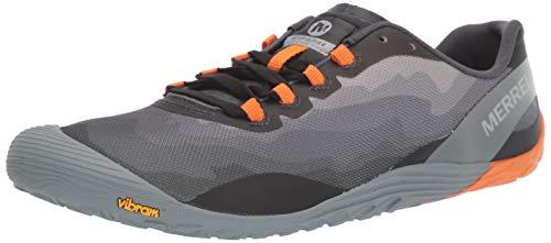 Merrell Men's Vapor Glove 4 Sneaker, Granite/Exuberance, 10 M US