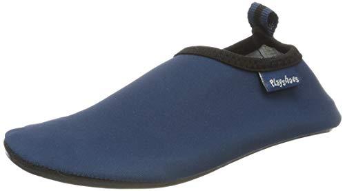 Playshoes Unisex dziecięce klapki kąpielowe, niebieski Marine, 20/21 EU