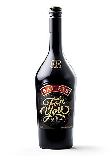 Baileys Original Irish Cream Likör mit FOR YOU Label Liköre (1 x 0.7 l)