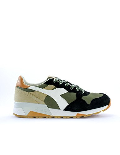 DIADORA HERITAGE uomo sneakers basse TRIDENT 90 C SW 201.161304 01 C6158 41 VERDE-BEIGE