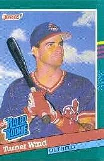 1991 Donruss Baseball Rookie Card #429 Turner Ward