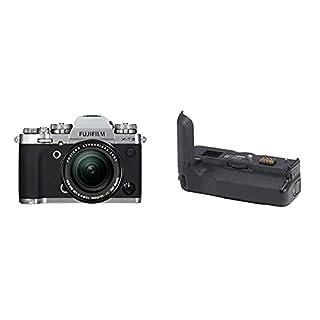 Fujifilm Appareil photo compact hybride X-T3 avec Objectif XF18-55 mm 26,1 Mpix Zoom optique Argent/Noir + Vg-XT3 (grip d'alimentation vertical) (B07KSM5Q11)   Amazon price tracker / tracking, Amazon price history charts, Amazon price watches, Amazon price drop alerts